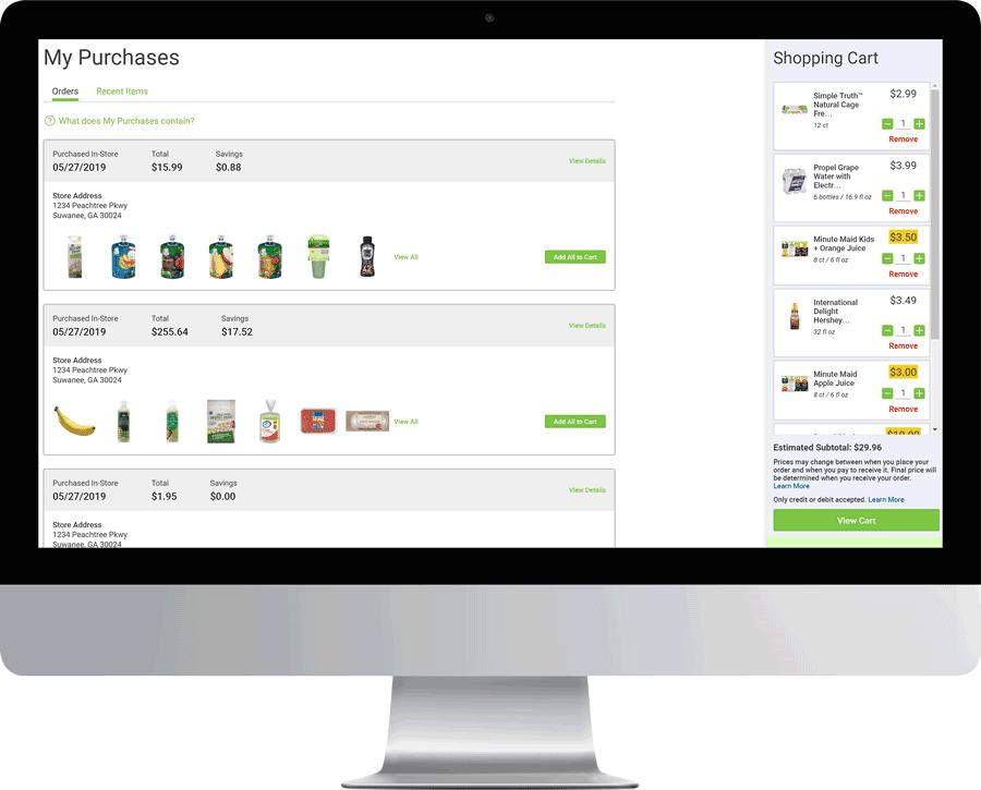 Grocery Receipt Repository