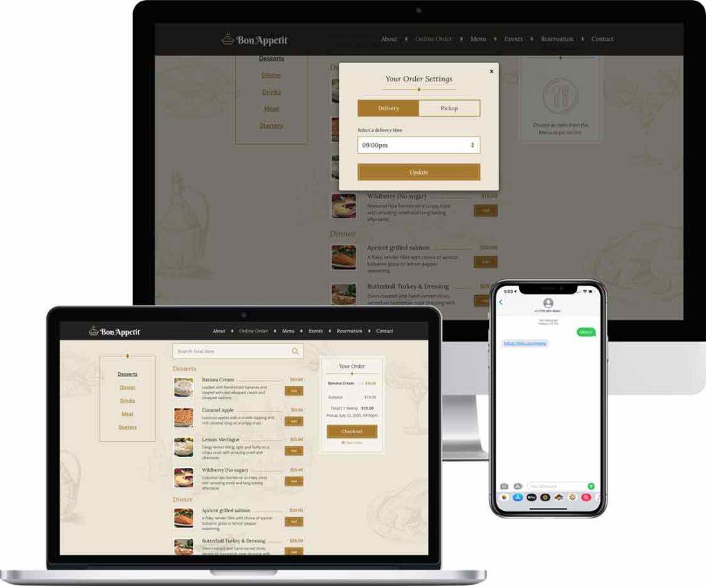 Online Phone Ordering